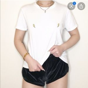 Brandy Melville- Lightning Bolt Tee